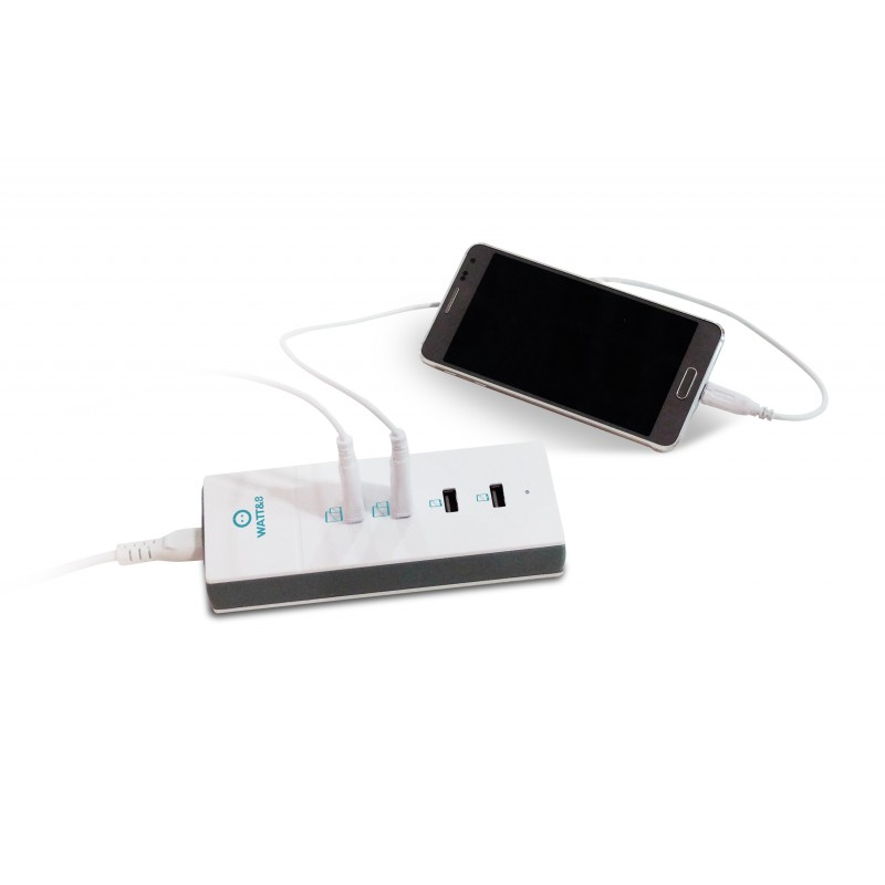 chargeur usb 4 ports puissant. Black Bedroom Furniture Sets. Home Design Ideas