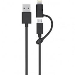 Câble 2en1 USB 3.0