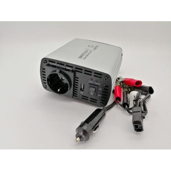 Convertisseur voiture 12v 220V 300W + sortie USB