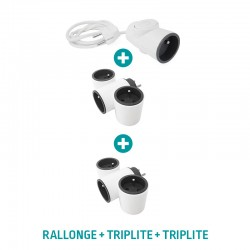 Pack MODULOWATT : Rallonge + 2 Triplite