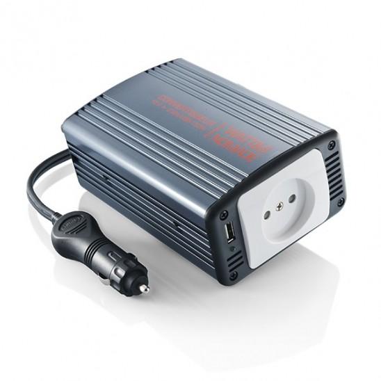 Convertisseur voiture 12v 220V 150W + sortie USB